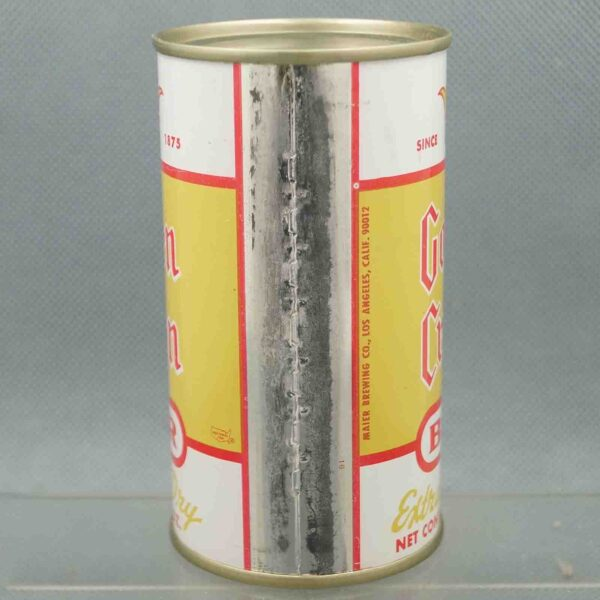 golden crown 72-35 flat top beer can 4