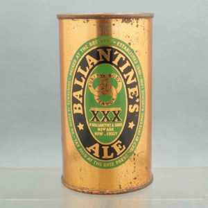 ballantines 33-2 flat top beer can 1