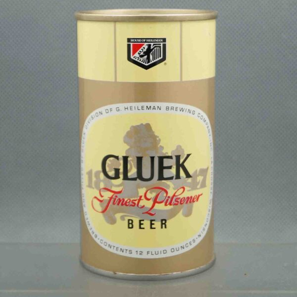 gluek 68-40 pull tab beer can 1