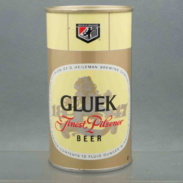 gluek 68-40 pull tab beer can 3