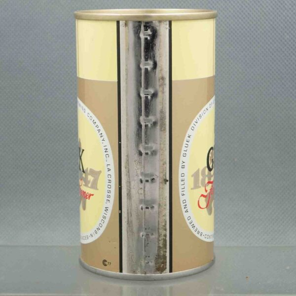 gluek 68-40 pull tab beer can 4