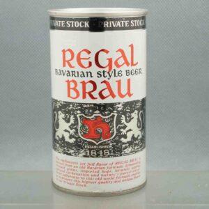 regal brau 114-17 pull tab beer can 1