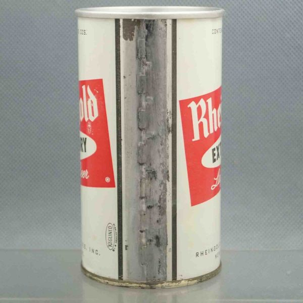 rheingold 115-7 pull tab beer can 4