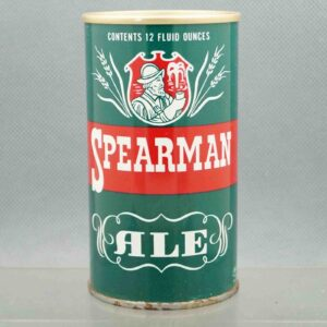 spearman 125-7 pull tab beer can 1
