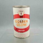 golden glow 73-12 flat top beer can 1