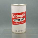 rheingold 124-21 flat top beer can 1
