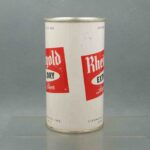 rheingold 124-21 flat top beer can 2