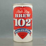 brew 102 flat top beer can 1