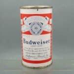 budweiser 44-34 flat top beer can 1