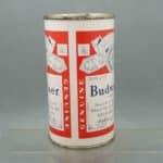 budweiser 44-34 flat top beer can 2