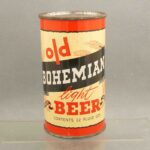 old bohemian l104-23 flat top beer can 1
