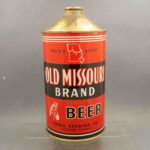 old missouri 216-4 cone top beer can 1