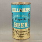 hillmans 82-19 flat top beer can 1